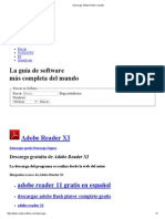 Descargar Adobe Reader XI Gratis