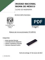 Módulo Del Microcontrolador PIC18F452