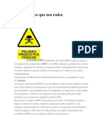 Pvc-repercusiones ambiental