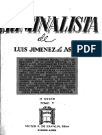 El Criminalísta. Defensa Social