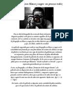 la fotografa en blanco y negro