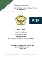 Sejarah Pendidikan Keperawatan di Indonesia