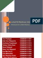 Waste Produk Handling