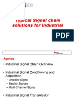 1856.Typical Signal Chain Solutions for Industrial