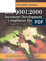 Document Document Compliance Manual