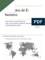 Conceptos de E-business
