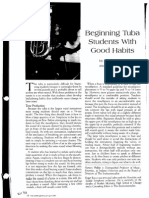 beginning tuba
