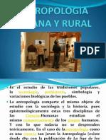 Antropologia Rural y Urbana