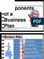 Component Business Plan