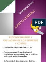 Constructoras Presentacion Aspecto Contable
