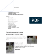 Informe de Quimica Numero 8