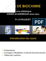 Biochimie 2 Eme Diet Intro Pauquet