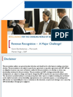 2014 Revenue Recognition a Major Challenge