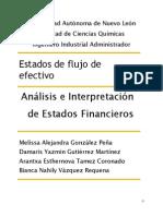 Analisis Estados Financieros Estados de Flujo de Efectivo.docx