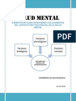 Elementos de Contexto Salud Mental