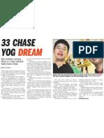 33 Chase YOG Dream, 17 Oct 2008, Straits Times