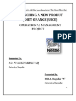 Operational Managment Project