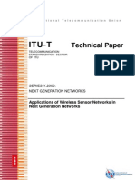 Applications of Wireless Sensor Networks in Next Generation Networks