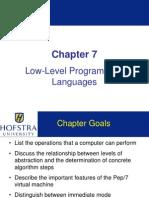 Low Level Program Languages
