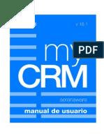 MyCRM 16.1 - Manual de Usuario