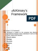 McKinsey's Framework 2007