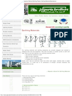 Earthing Materials Supplier, Earthing Materials Accessories, Electrical Eart