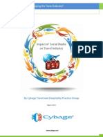 Cybage Report - Impact of Social Media on Travel Industry