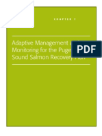 Adaptive Management and Monitoring for the Puget Sound Salmon Recovery Plan