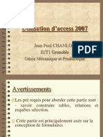 Utilisation Access 2007 (3)