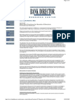 M&a Best Practices for BOD