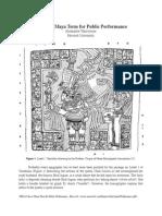 Articule - A Classic Maya Term for Public Performance - Tokovinine Alexandre