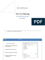TCC Filtering Steps