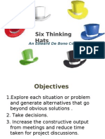 6 Thinking Hats- ppt