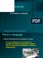 Cpp Language