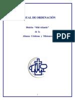 Ordenacion pastoral