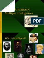 USE YOUR BRAIN Multiple Intelligences