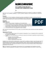 SaskMusic InTune Compilation App 2010 (PDF)