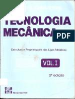 Tecnologia Mecânica Vol.1