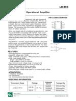 LM358 Datasheet