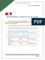 Mireille Mathieu Cinquante Ans de Carrière (Fiche FLE A2-B2)