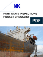 Port State Inspections Pocket Checklist