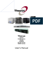 Thecus N7700 Pro AllinOne UM V5.0 English