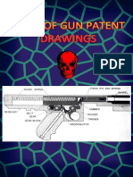 Book of Gun Patent Drawings 1