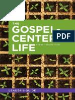 Gospel Centered Life Leaders Guide