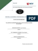 El Contrato Administrativo en La Ley de Contrataciones Del Estado - Monografia (Recuperado)