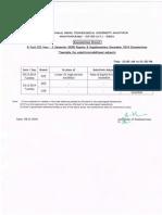 JNTU-ANANTAPUR:B.Tech (CCC) II Yr Supple Feb 2014 Exams discrepancy result