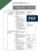 2015 Scheme of Work Add Maths F5