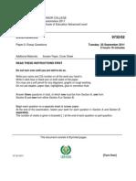 2011 TJC Prelim H2 Econs Paper 2