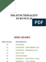 Chapter 10 - NPA Functionality1