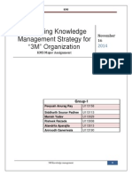 3M Knowledge Management-Group 1